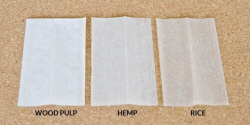 the various kinds of rolling paper materials that are out there